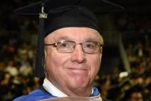 Steve Townsend graduation