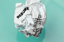 Avoid these mistakes when writing your resume.