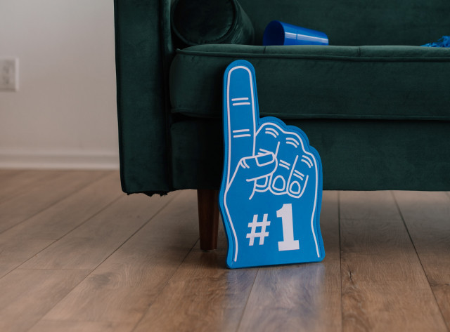 sports fan foam finger
