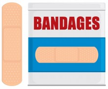 illustration of bandages